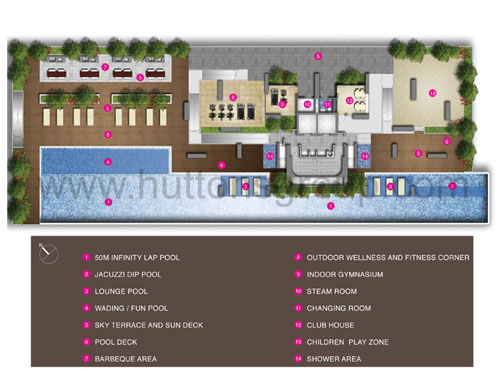 Regent Residences Site Plan