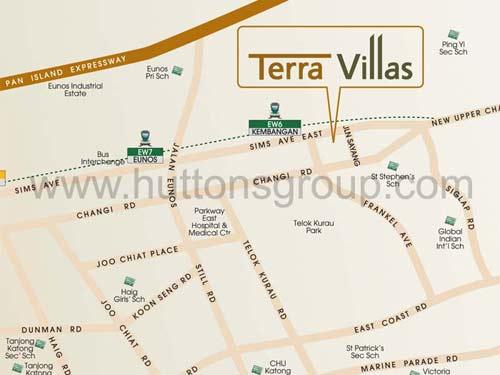 Terra Villas Location