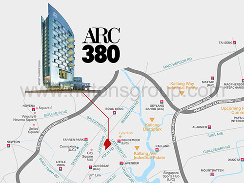 ARC 380 Location
