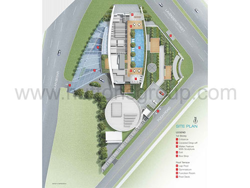 ARC 380 Site Plan