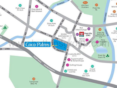 Coco Palms Location