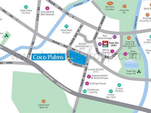 Coco Palms Location