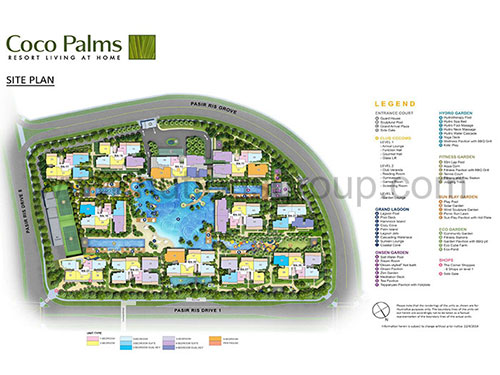 Coco Palms Site Plan