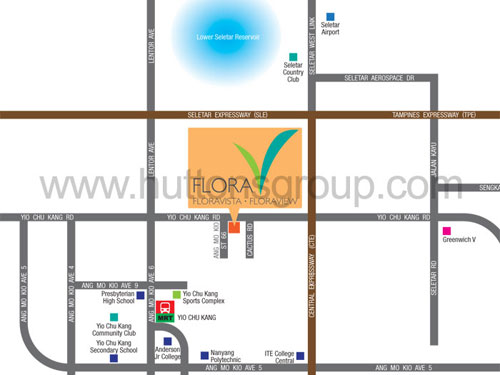 Image result for floraview location map