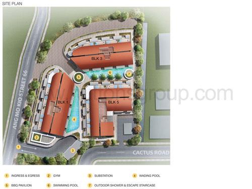 Floraview & Floravista Site Plan