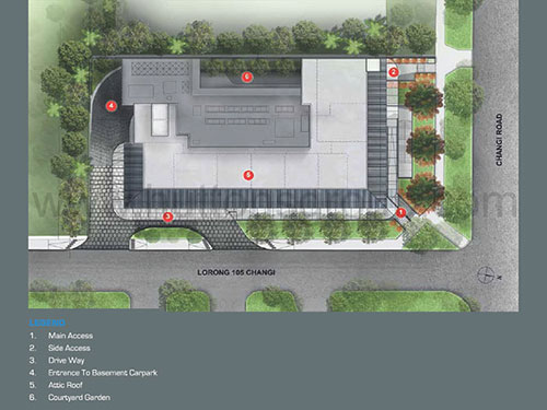 Hexacube Site Plan