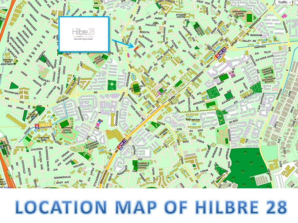 Hillbre 28 Location
