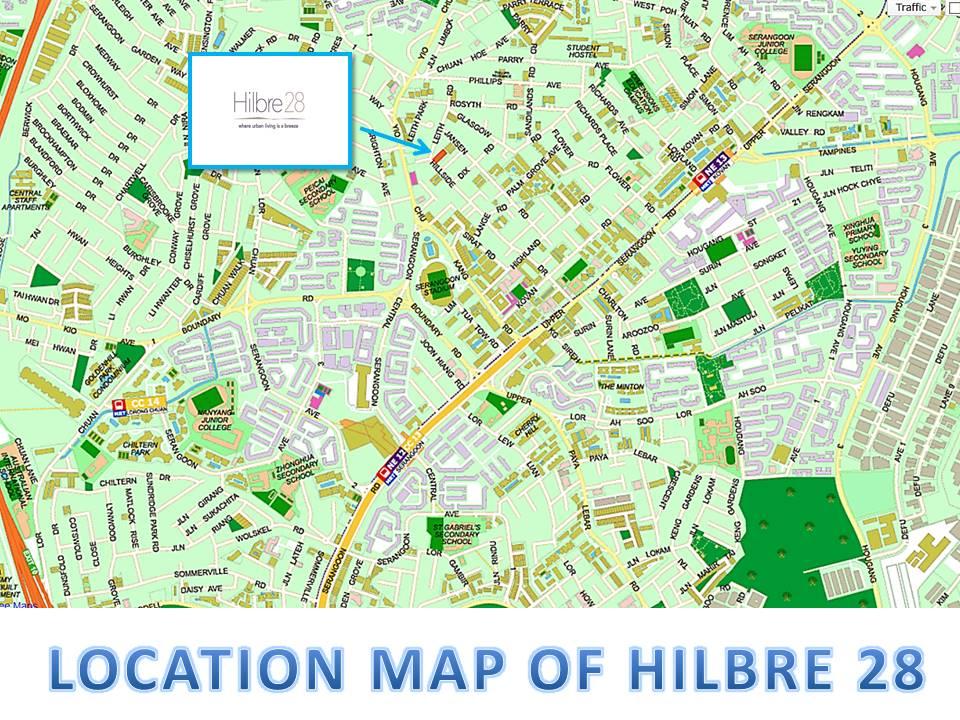 Hillbre 28 Location