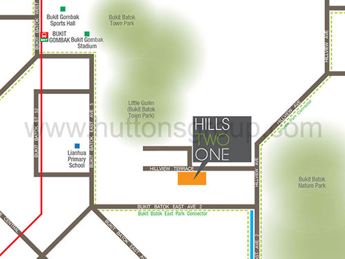 Hills TwoOne Location