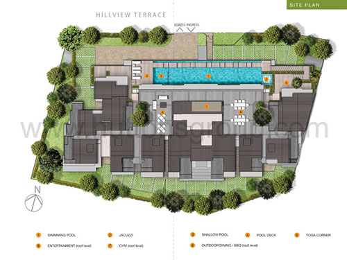 Hills TwoOne Site Plan