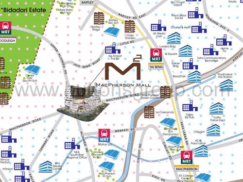 Macpherson Mall Location