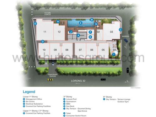 Rezi 3 Two Site Plan