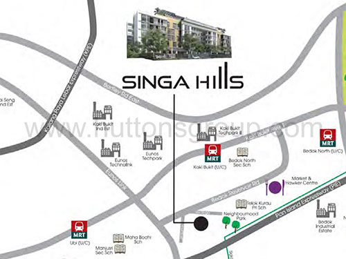 Singa Hills Location