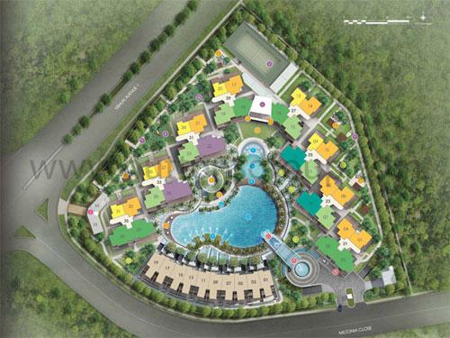 Skies Miltonia Site Plan