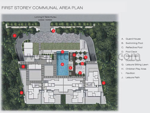 The Cristallo Site Plan