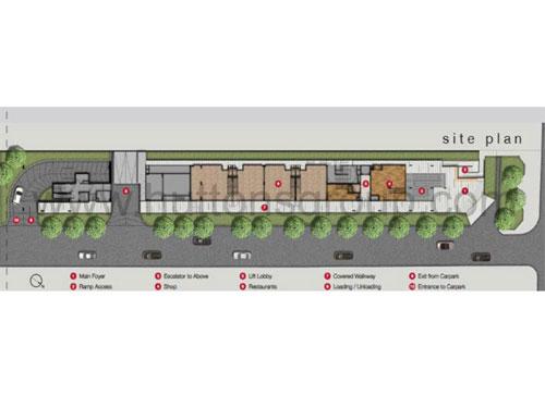 The Flow Site Plan