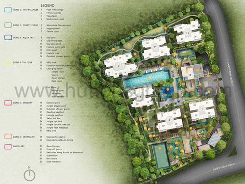 The Skywoods Site Plan