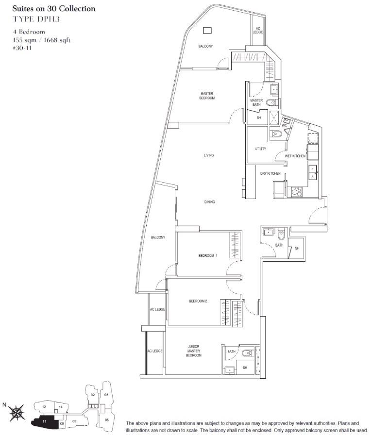 City Gate Floor Plan 1
