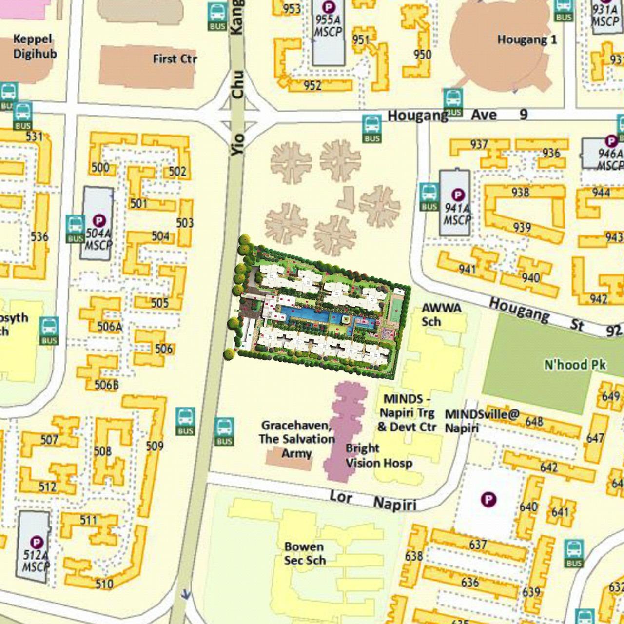 HPR map