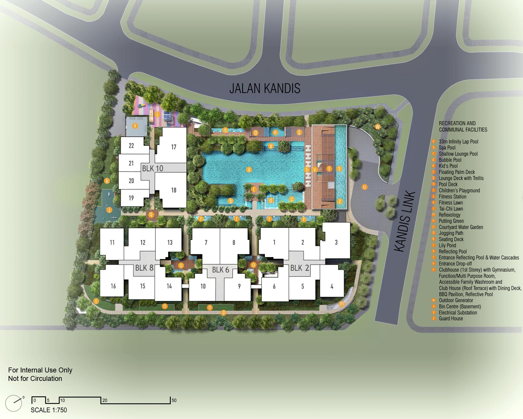 Kandis Resi Site Plan